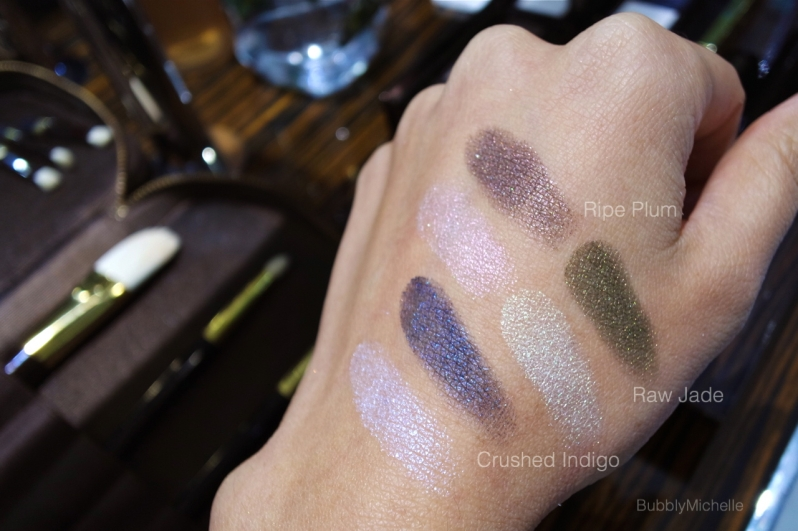 Tom Ford Spring 2015 makeup swatches