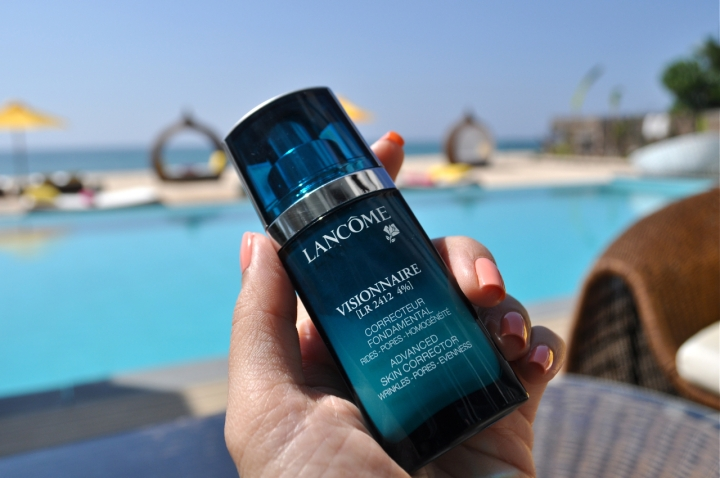 Travel skincare visionnaire