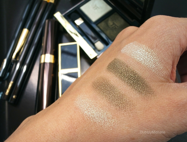 Tom Ford Raw Jade swatches