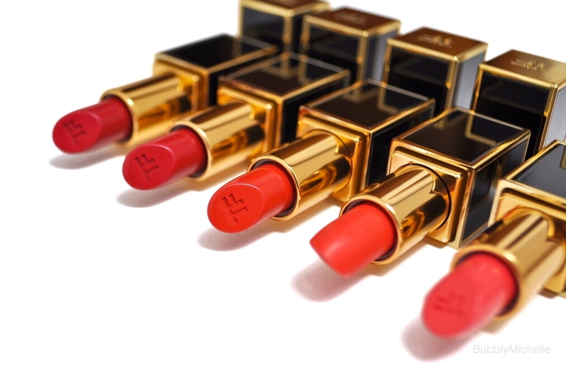 Tom Ford lips and Boys reds