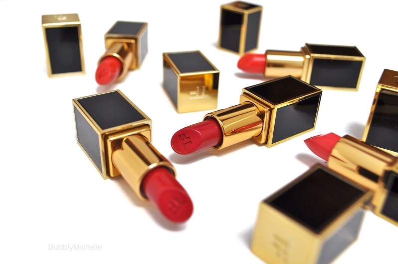 Tom Ford lips and boys swatches