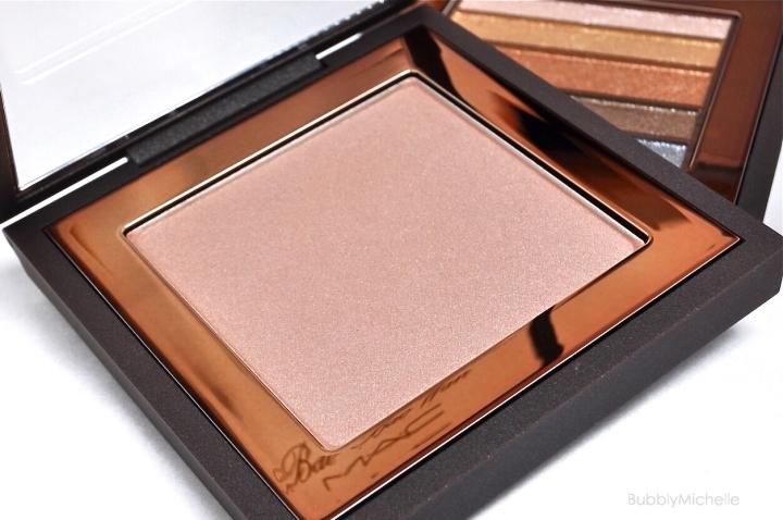 Mac Summer Opal beauty powder swatch