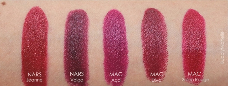 Julia Petit Acai swatches