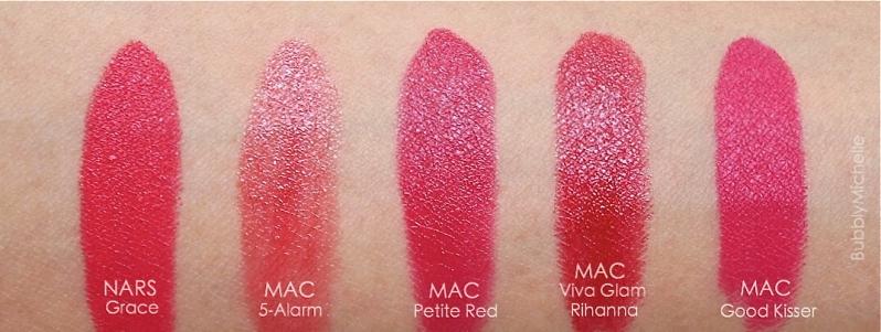 Juila Petit Mac Petite red swatches