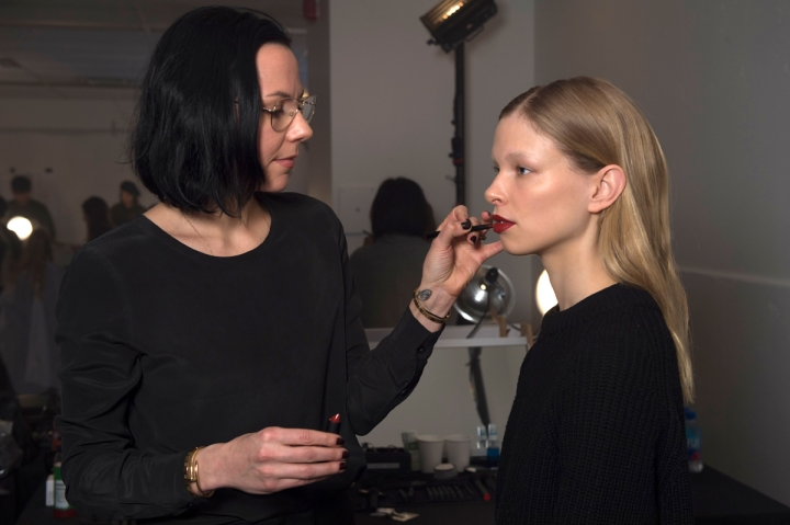 NARS backstage summer 2015 makeup