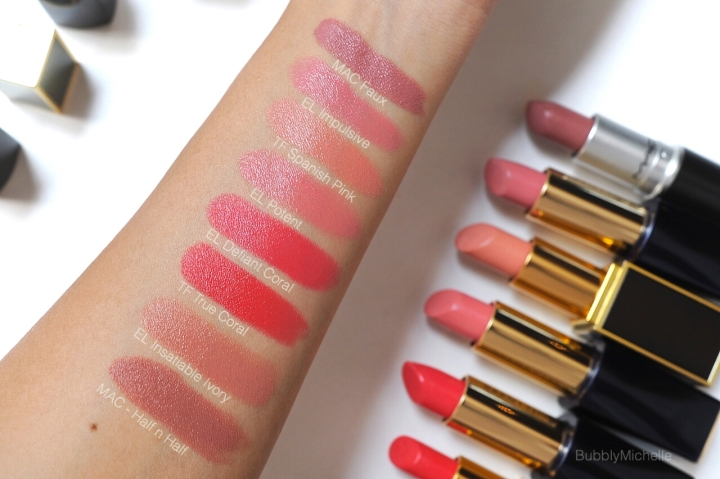 Estee Lauder Pure colour envy swatch