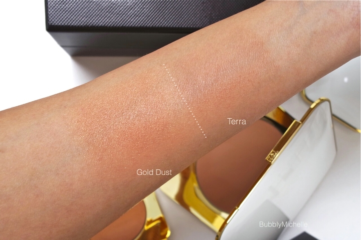 Tom Ford bronzer swatches