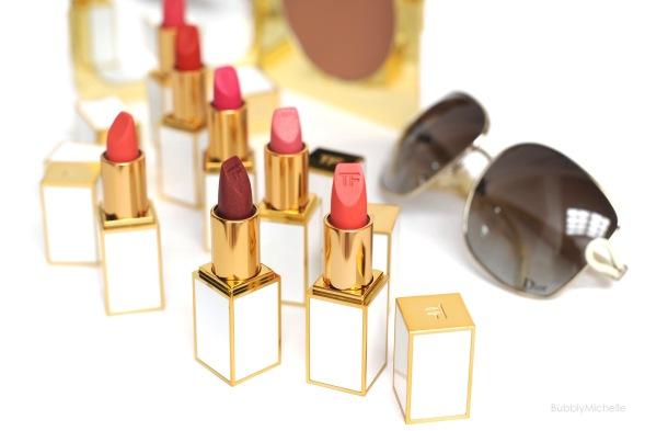 TF Summer Soliel lipsticks