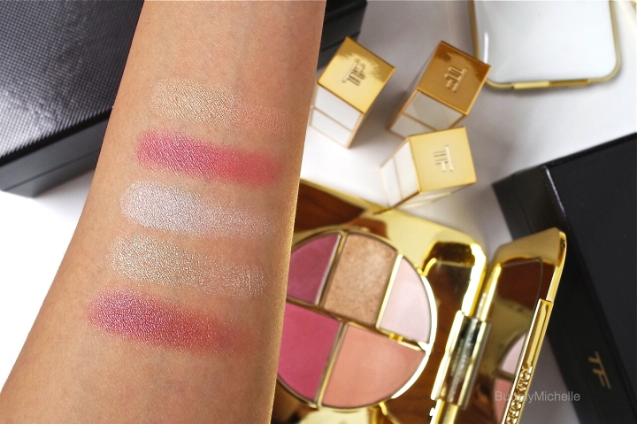 Tom Ford Pink Glow Swatches