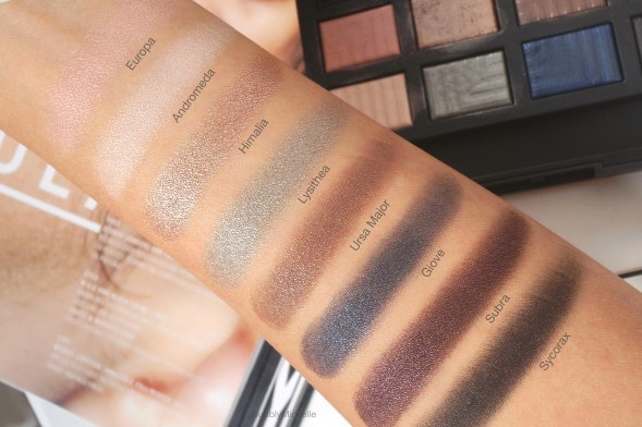 NARS Dual intensity swatches