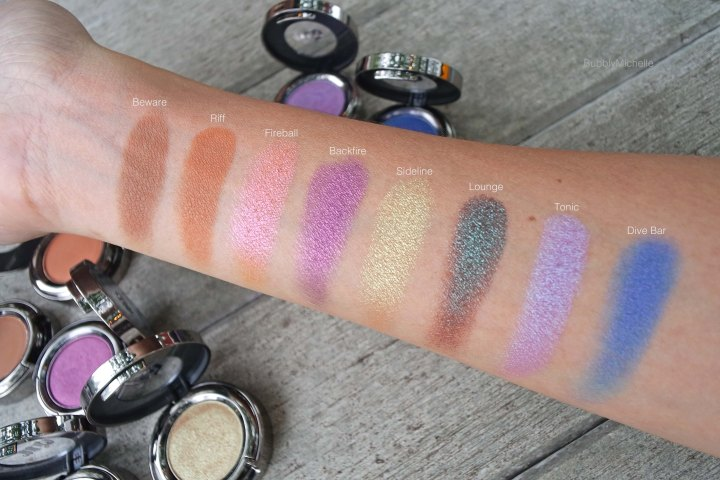 Urban decay summer eyeshadow swatches