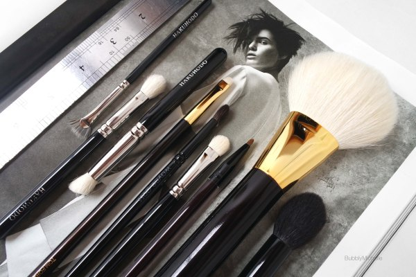 Makeup brushes review Hakuhodo Tom Ford