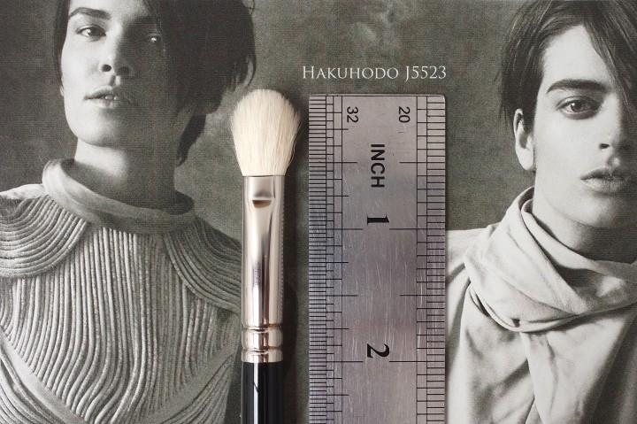 Hakuhodo J5523 review makeup brush