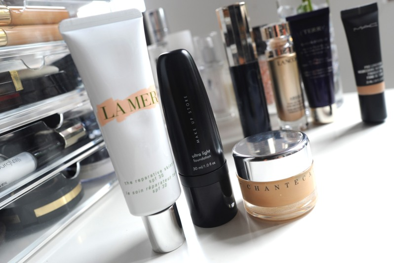 la mer reparative skin tint chantecaille future skin make up store foundation