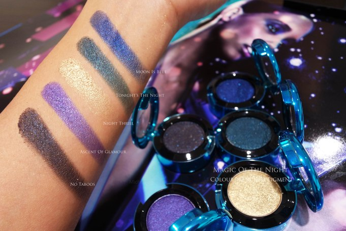 MAC colourdrench eyeshadows holiday 2015