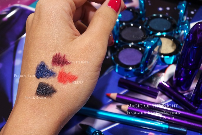 mac holiday 2015 swatches