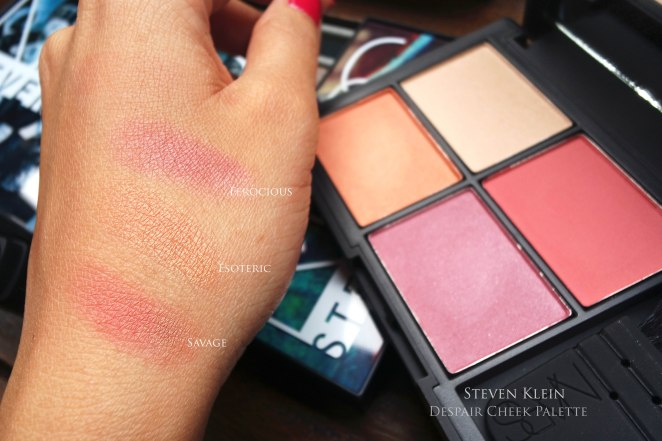 NARS Steven Klein gifting swatches