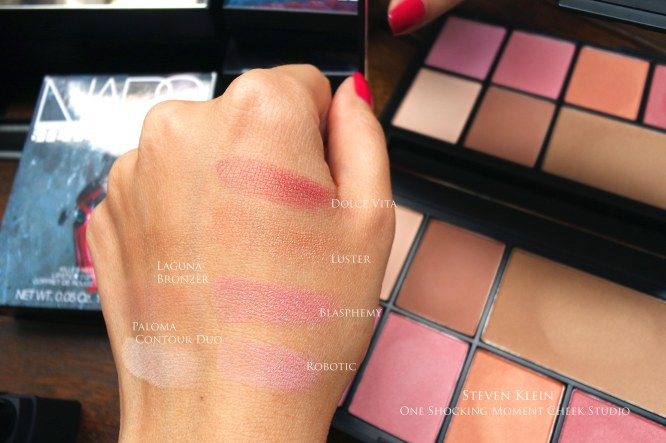 NARS Steven Klein swatches gifting