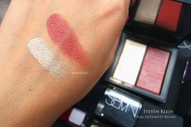 NARS dual intensity steven klein blush swatch