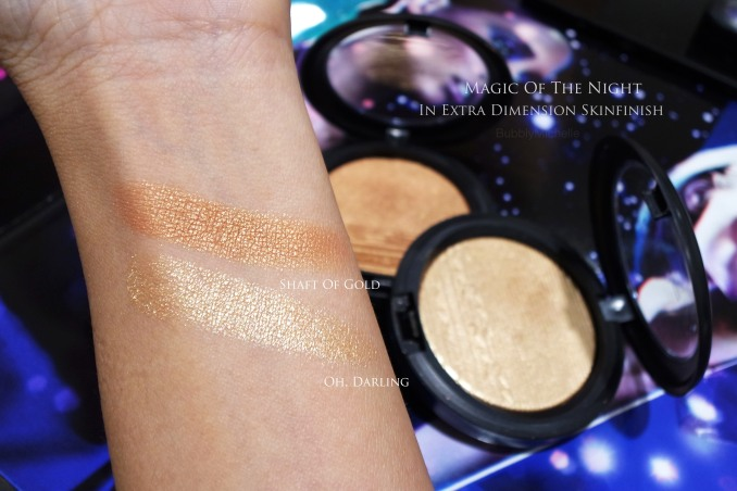 MAC Oh darling swatch