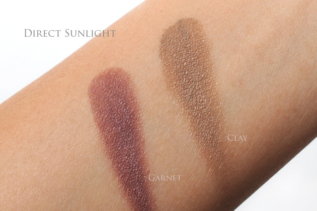 Shiseido autumn 2015 swatches