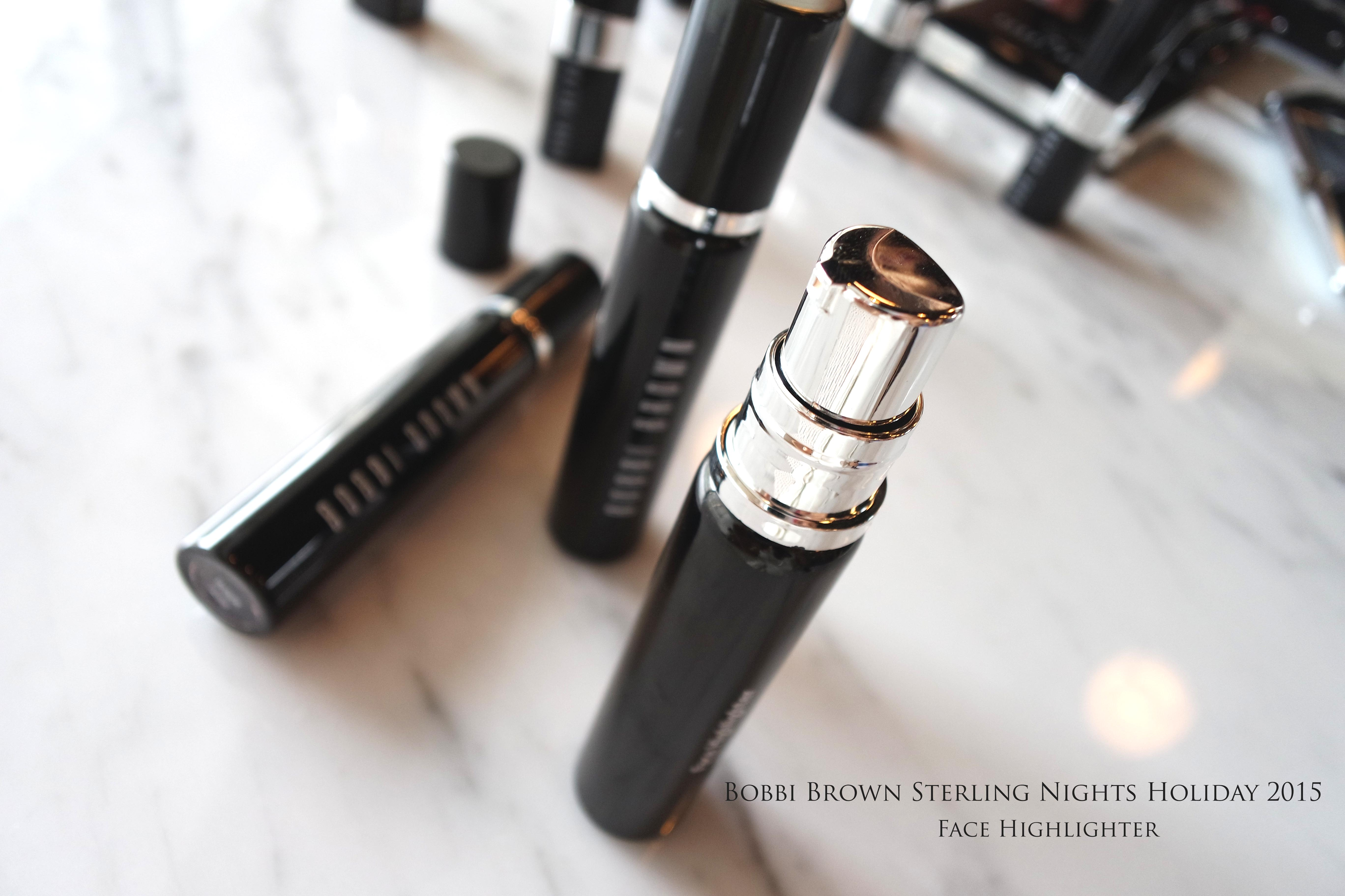 Bobbi Brown Sterling Nights Holiday 2015 Makeup Collection recommendations