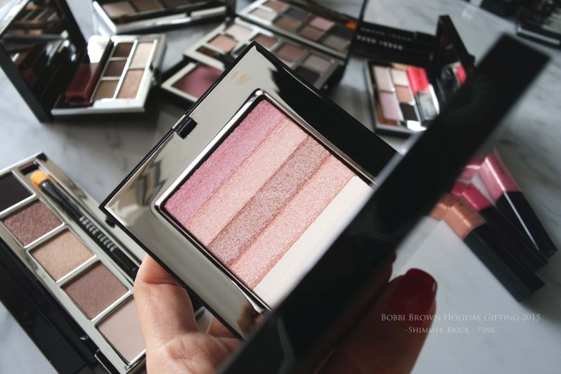 Bobbi brown shimmer brick pink