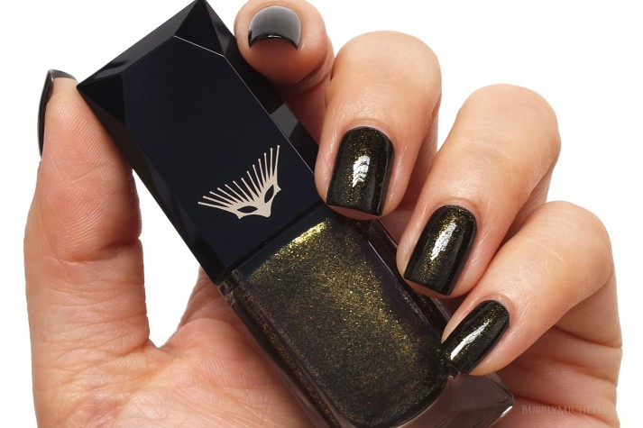 Cle de peau nail polish swatch