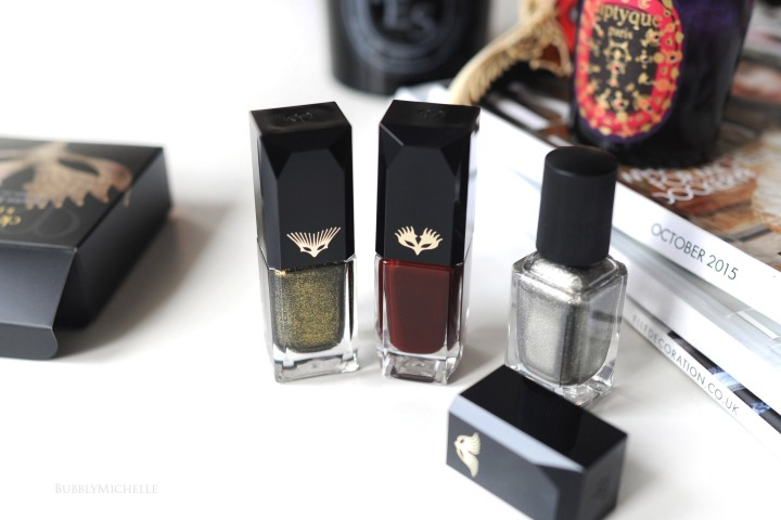 cle de peau beauty bal masque nail lacquer