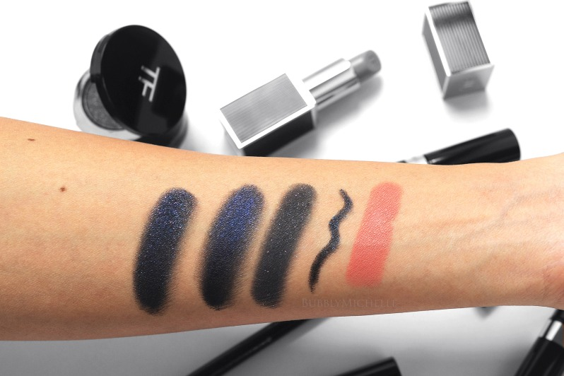 Tom Ford Noir 2015 swatches