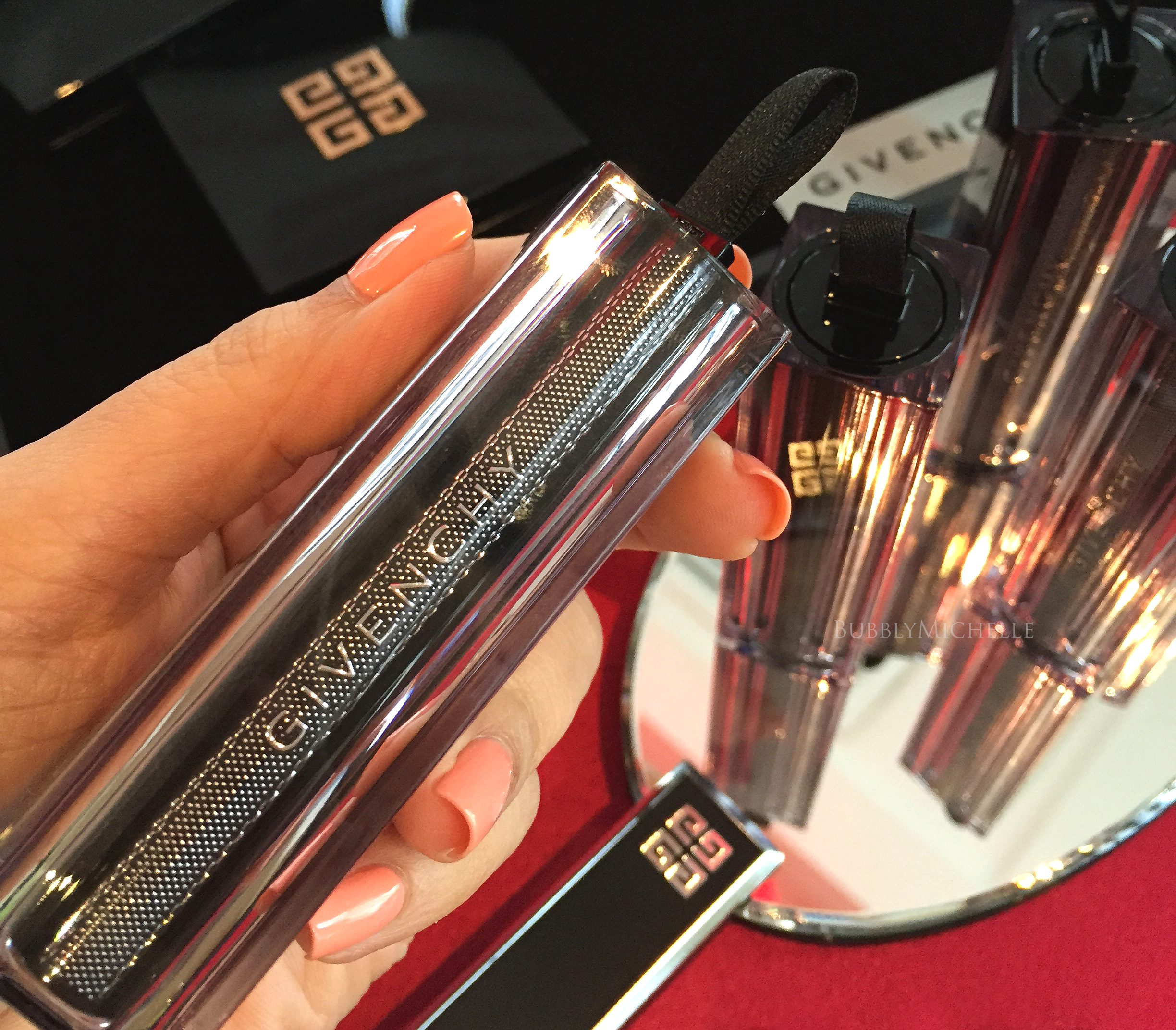 Givenchy les saisons cruise collection 2016 preview photos swatches bubbly michelle for Givenchy rouge miroir lipstick