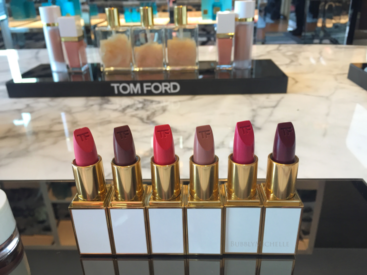 Tom Ford soleil 2016 makeup swatches