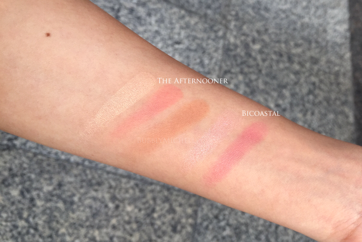 Tom Ford summer 2016 makeup swatches