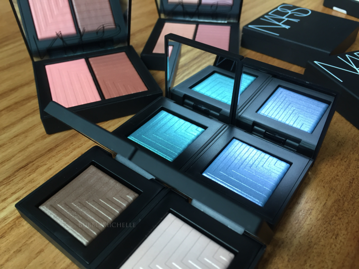 NARS summer 2016 makeup swatches