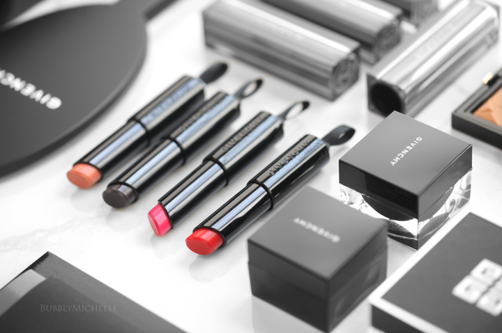 Givenchy Rouge Interdit Vinyl Lipsticks |Review, Photos & Swatches
