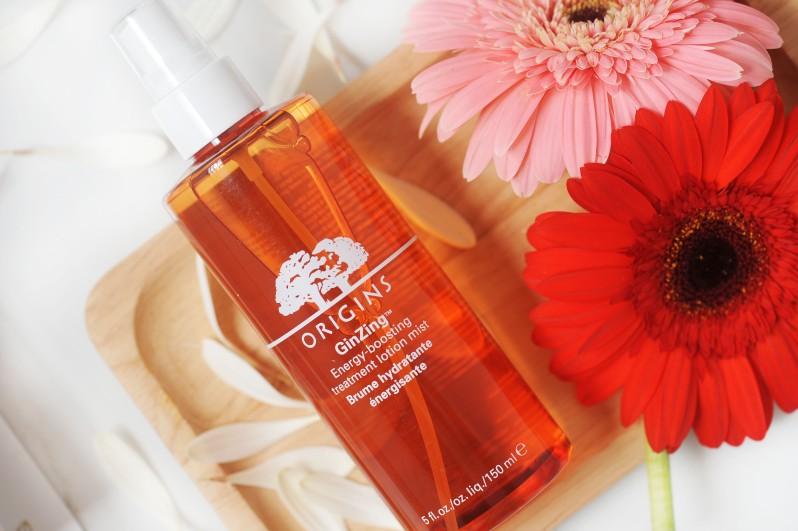 Origins Ginzing Energy boosting lotion mist review