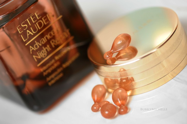 advanced night repair ampoules