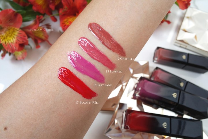 Cle de peau liquid rouge swatch