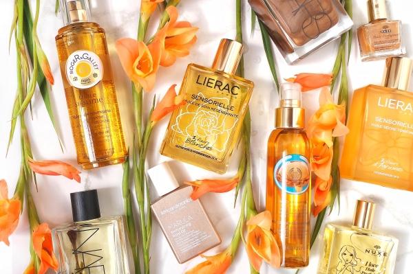 Body Oils review Nuxe, NARS Monoi Glow, Lierac