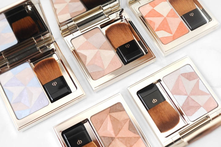 Cle de peau highlighters
