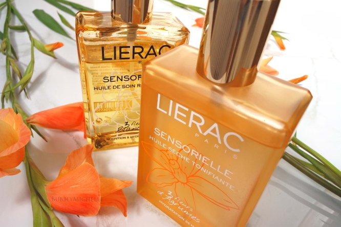Lierac, huile bosy oil review