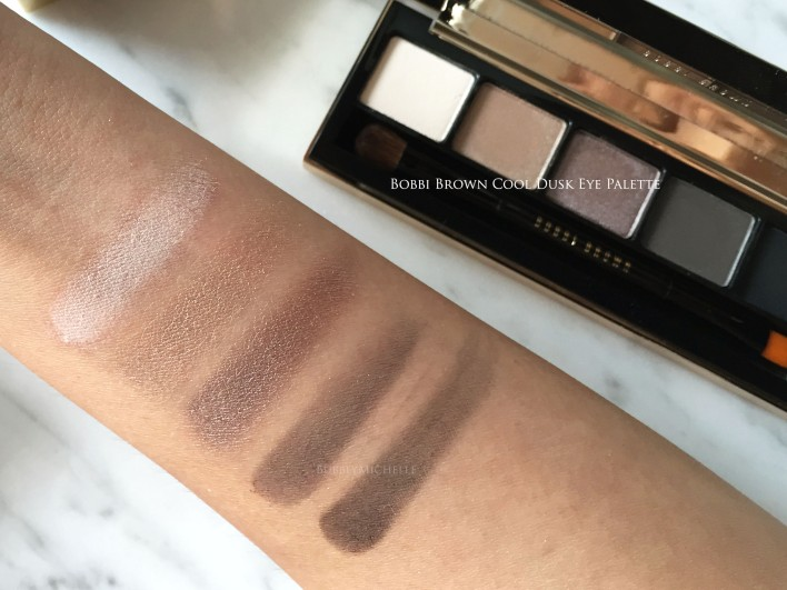 Bobbi Brown Holiday gifting swatches 2016