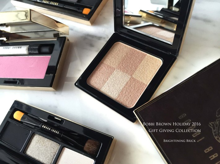 Bobbi Brown holiday 2016 gifting
