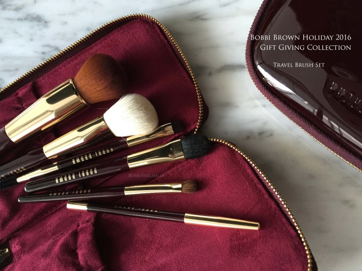 Bobbi Brown holiday brush set 2016