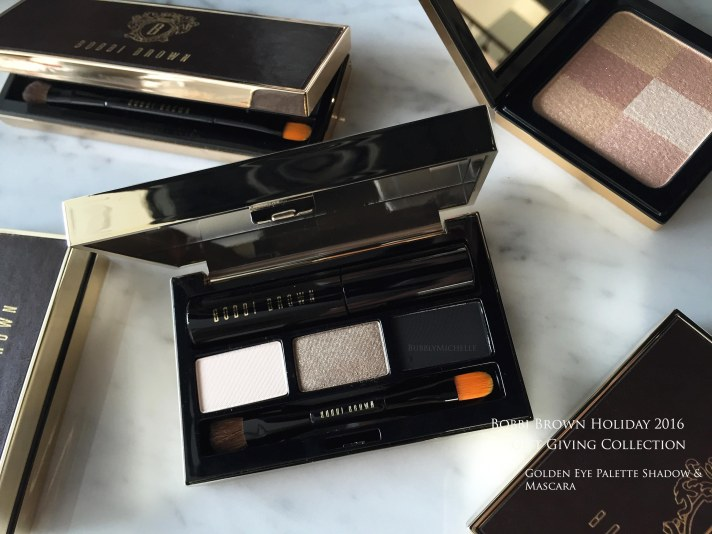 Bobbi Brown holiday 2016 palettes