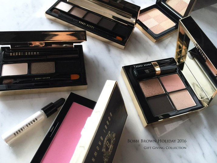 Bobbi Brown holiday gifting sets 2016