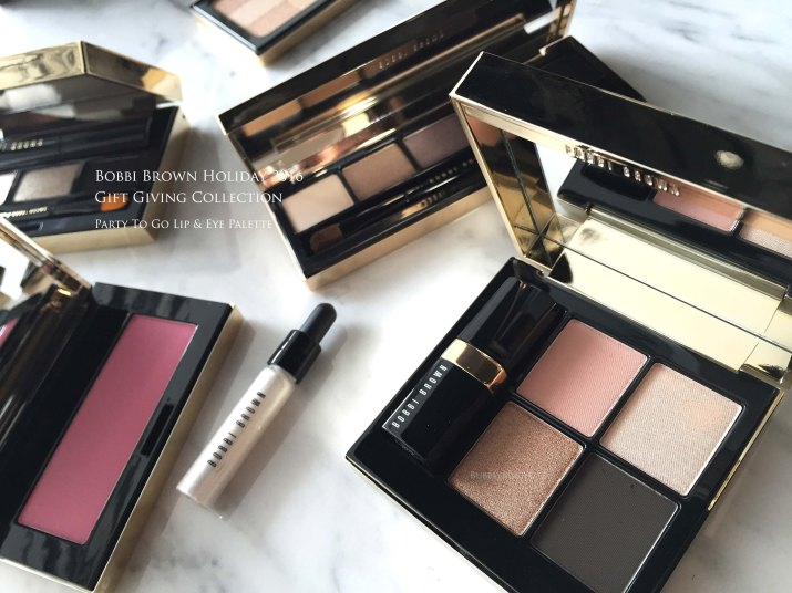 Bobbi Brown holiday party to go palette
