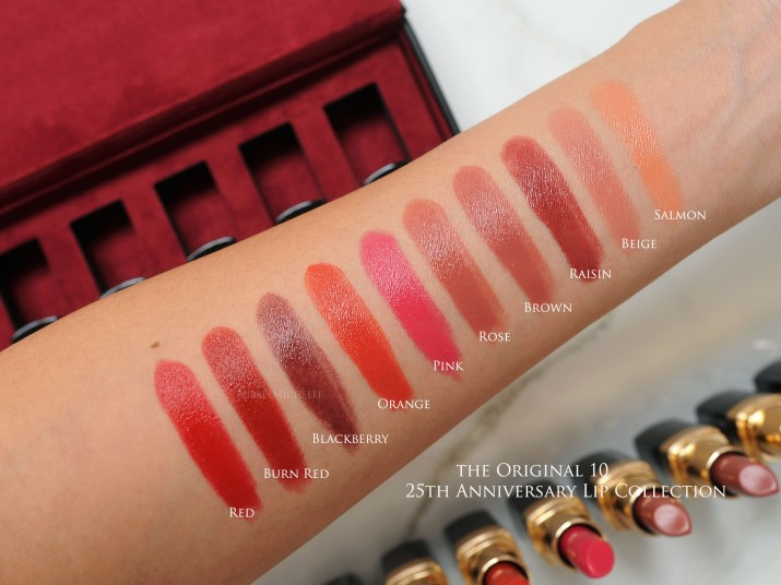 Bobbi Brown 25th Anniversary lip collection