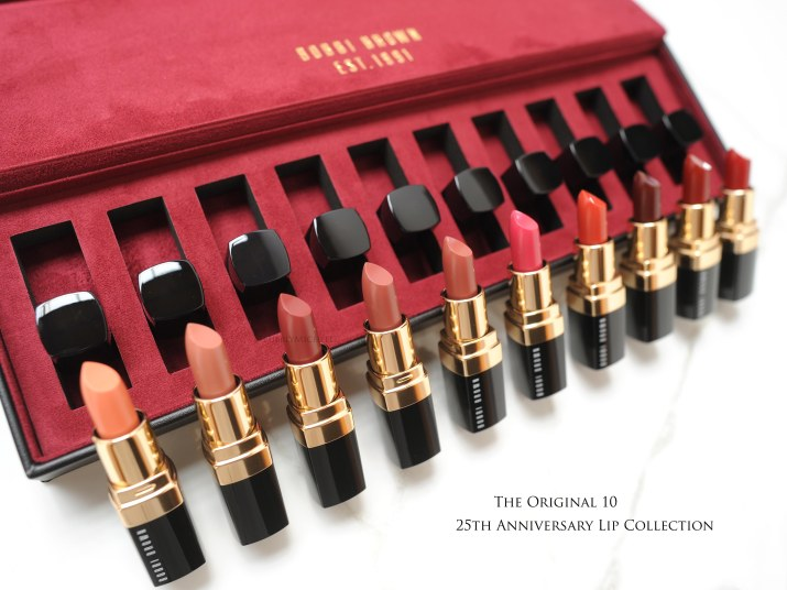 Bobbi Brown the Original 10 lip collection