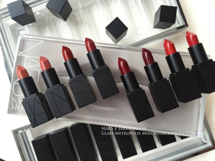 NARS Metropolis lipstick swatches